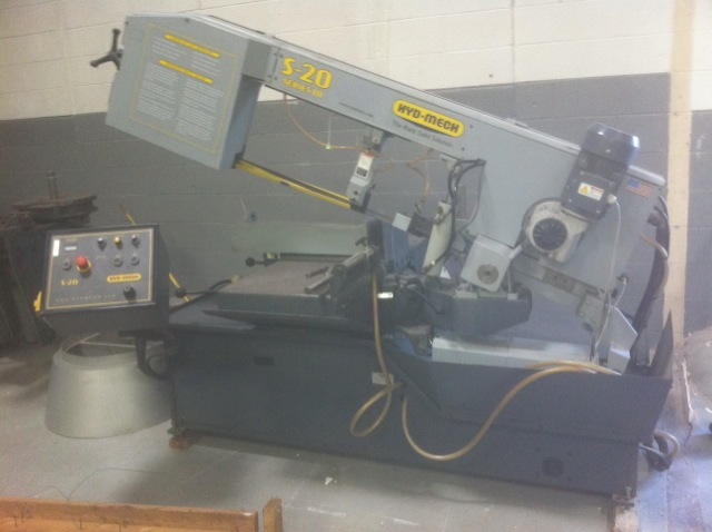 Hyd-Mech S-20M Series III Scissor Type Horizontal Band Saw, Machine ID: 5666