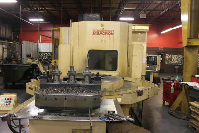 Cincinnati-Milacron T-40, Machine:5678, image:7
