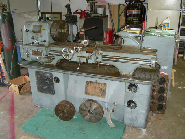 "Clausing Colchester 13"" x 36"" Gear Head Engine Lathe, Machine ID: 5683"