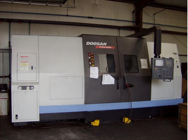Doosan Puma 800M, Machine ID: 5700