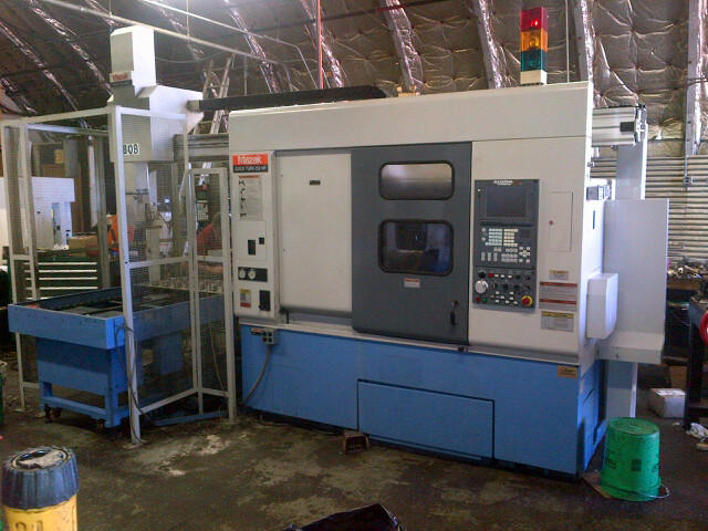 Mazak Quick Turn 250 HP, Machine ID: 5702