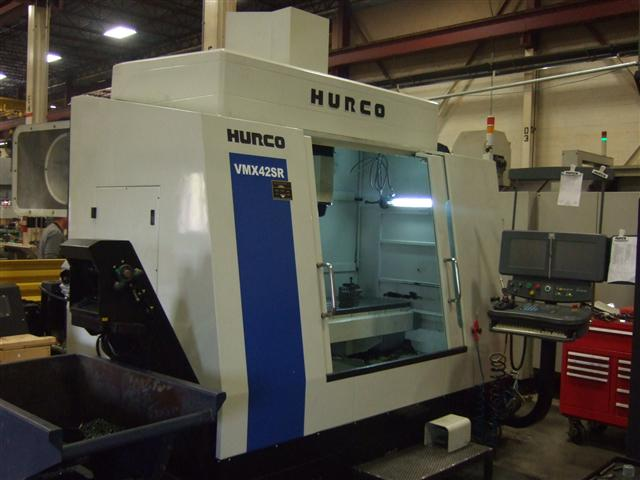 Hurco VMX42SR, Machine ID: 5729