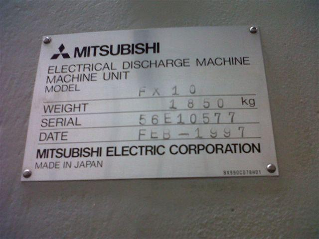Mitsubishi FX-10 image is available