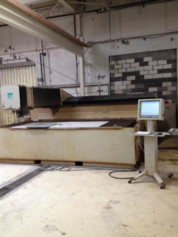 Flow International IBF 6012 Flying Bridge Waterjet, Machine ID:5783