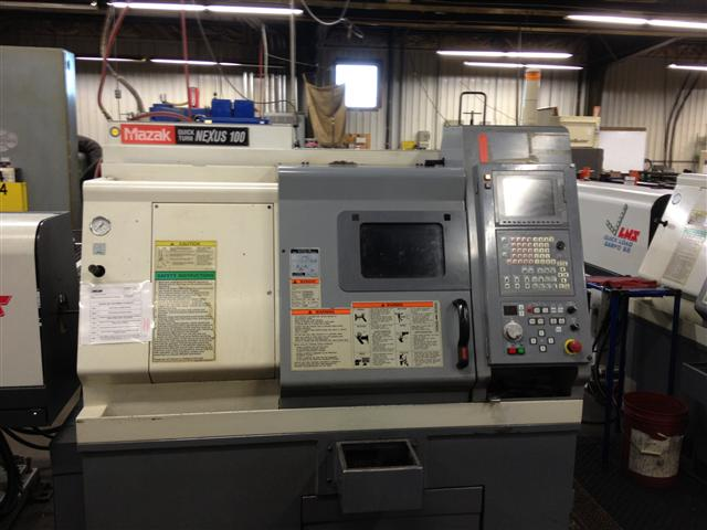 Mazak Quick Turn Nexus 100, Machine ID: 5808