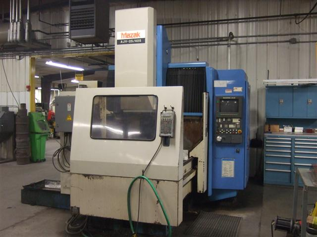 Mazak AJV-25/405, Machine ID: 5825