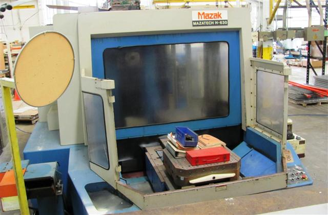 Mazak H-630, Machine ID: 5830