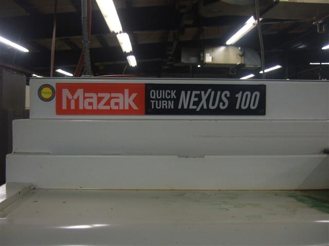 Mazak Quick Turn Nexus 100, Machine ID: 5844