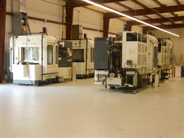 Machine 5869, Kitamura My center H-400, 2 Pallets, Fanuc 15M, Full 4th Axis, 1996-97, Four machines available