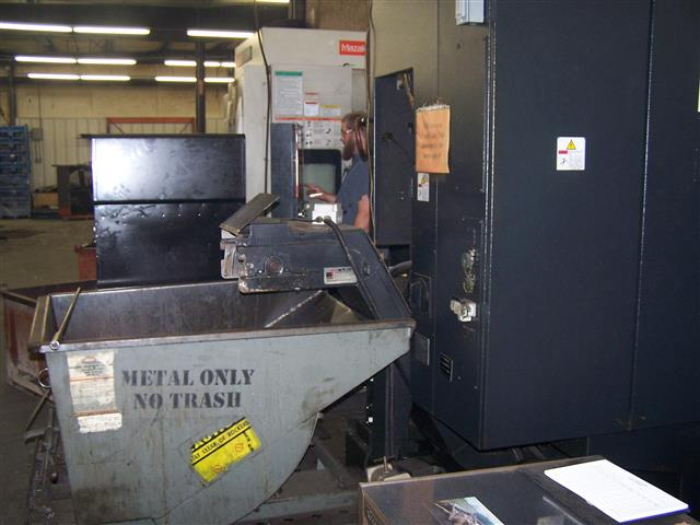 Mazak IVS-200M, Machine ID: 5885