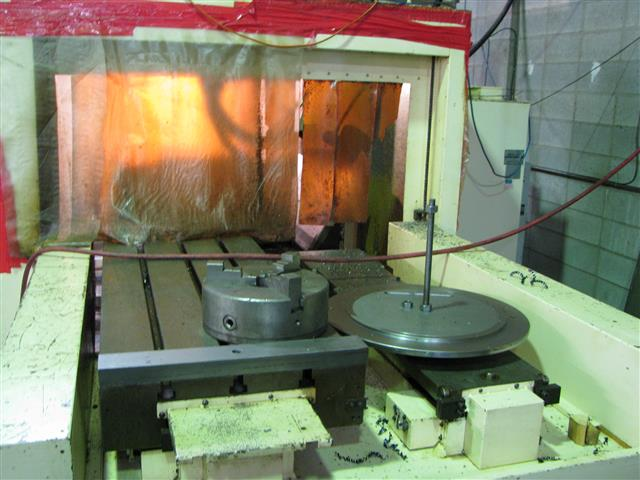 machining center pallet. dah lih cnc vertical machining center 4th axis pallet changer 2