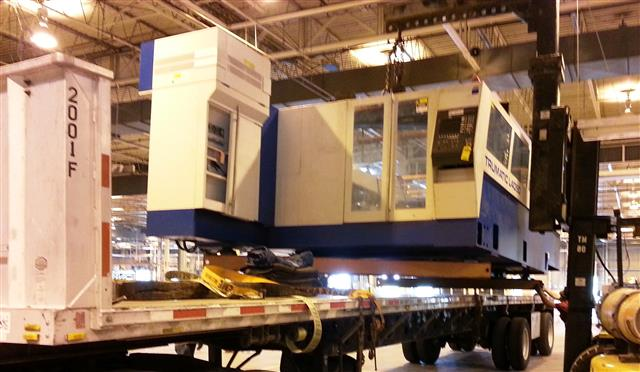 Trumpf Trumatic L4050, Machine ID: 5943