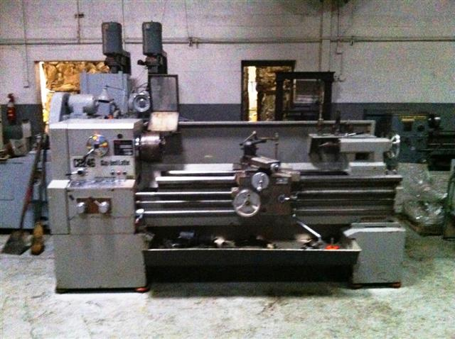 Havlik C6246 Gap Bed Lathe, Machine ID: 5950