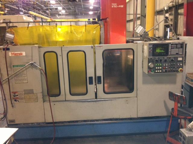 Mazak VTC-41M, Machine ID: 5994