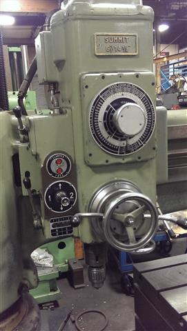Summit 6 ft - 14.5 inch Radial Drill, Machine:6065, image:2