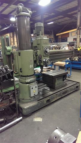 Summit 6 ft - 14.5 inch Radial Drill, Machine:6065, image:0