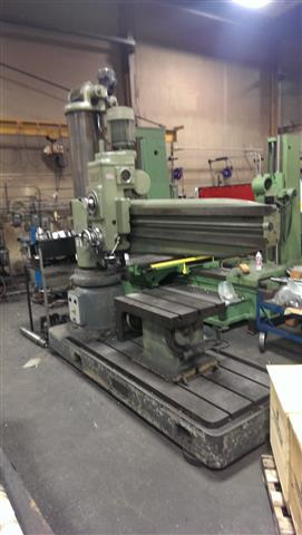 Summit 6 ft - 14.5 inch Radial Drill, Machine:6065, image:1