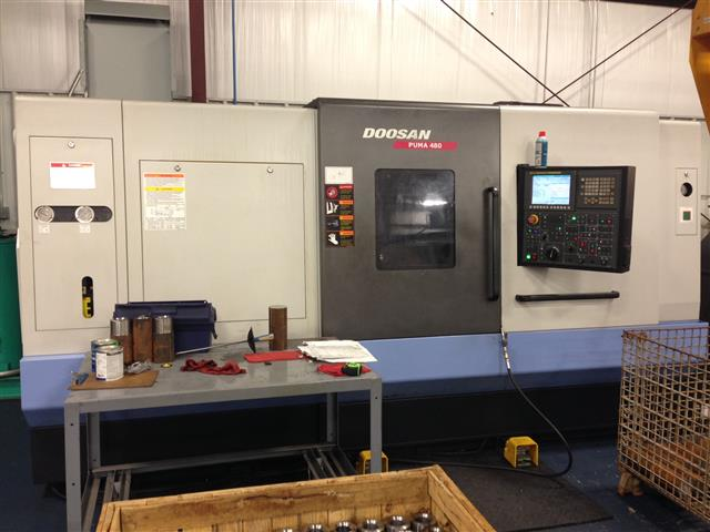 Doosan Puma 480 High Performance Turning Center, Machine ID: 6101