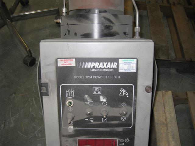 Praxair 1264 Powder Feeder, Machine ID:6158