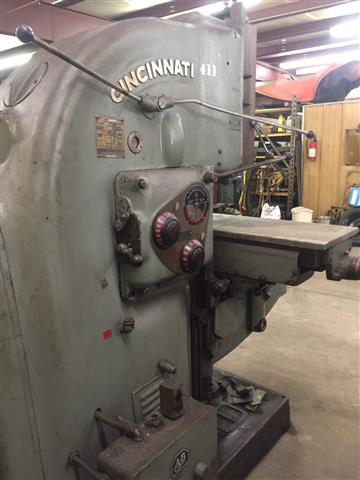 Cincinnati No 4 Vertical Mill, Machine ID:6183