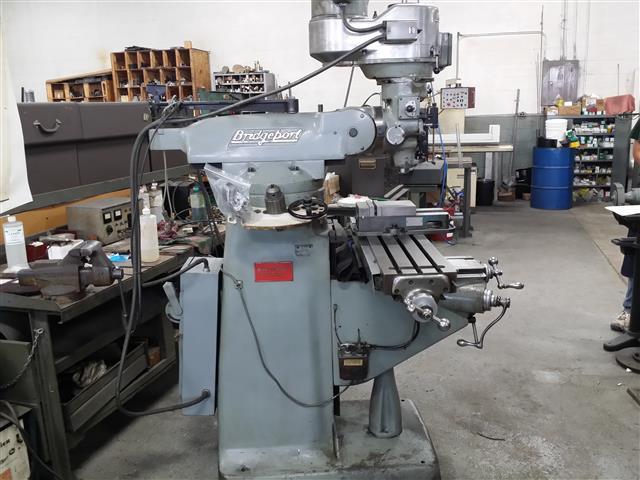 Superior Machinery :: Bridgeport Series 1 2J Vertical Knee