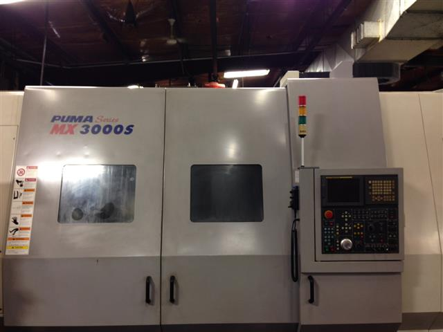 Doosan Puma MX 3000S, Machine ID: 6196