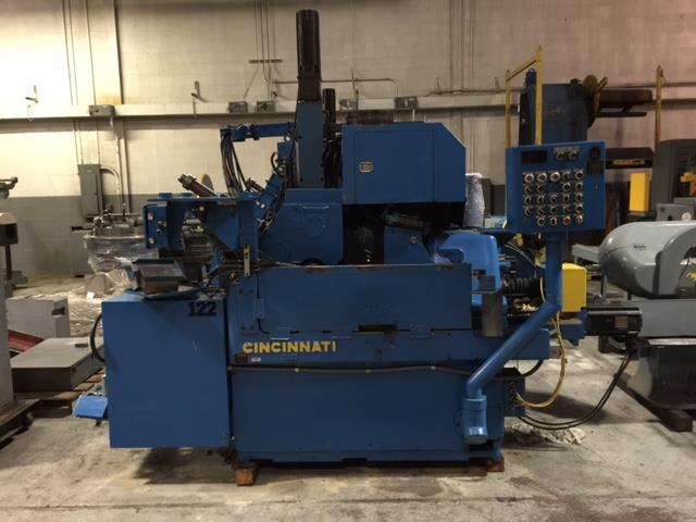 "Machine 6201, Cincinnati 2 OM Centerless Grinders, Re-man 03, CNC, 24"" Guard, Filtration, Profile, Crush, Roll Form, Medical"