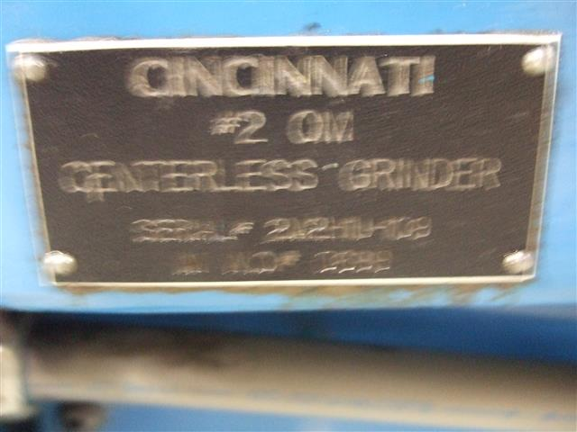 Cincinnati No. 2 OM, Machine:6201, image:3