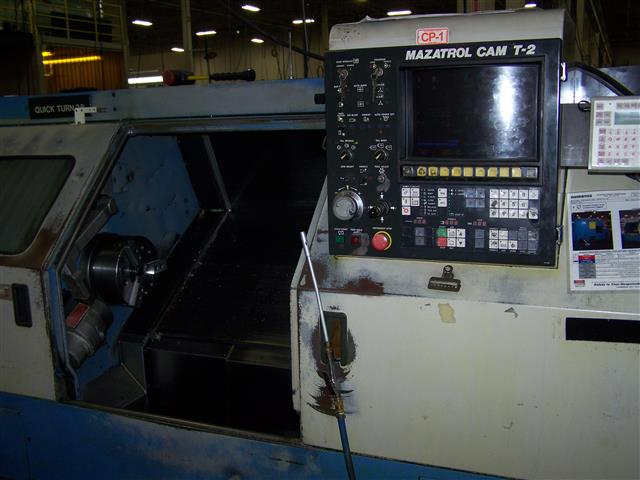 Mazak Quick Turn-28, Machine ID: 6209