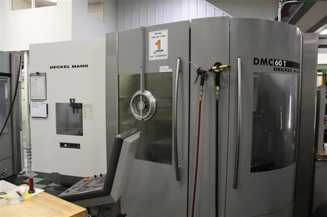 Deckel-Maho DMC 60T, Machine ID: 6242