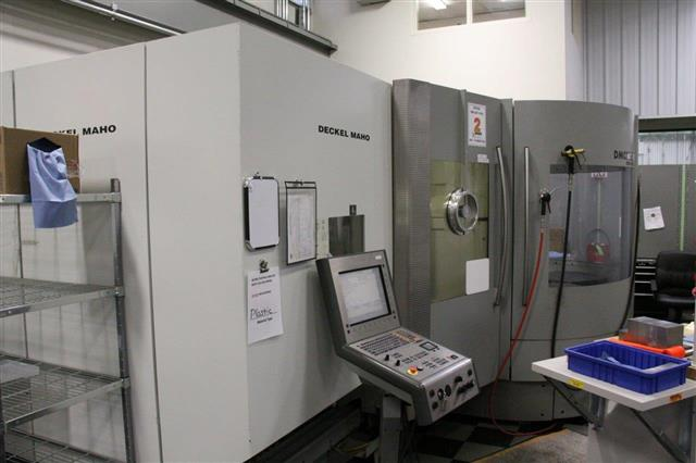 Deckel-Maho DMC 60T, Machine ID: 6246