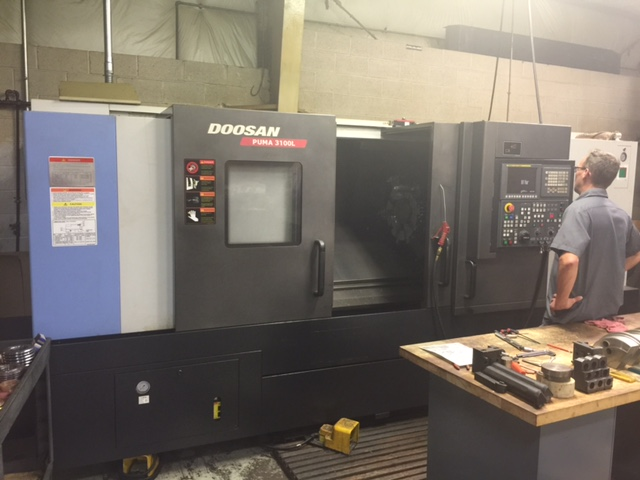 Doosan Puma 3100L, Machine ID:6261