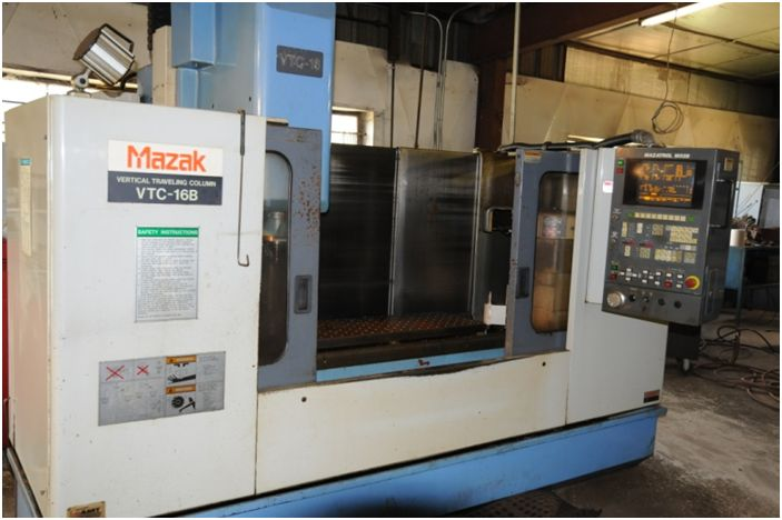 Mazak VTC-16B, Machine ID:6275