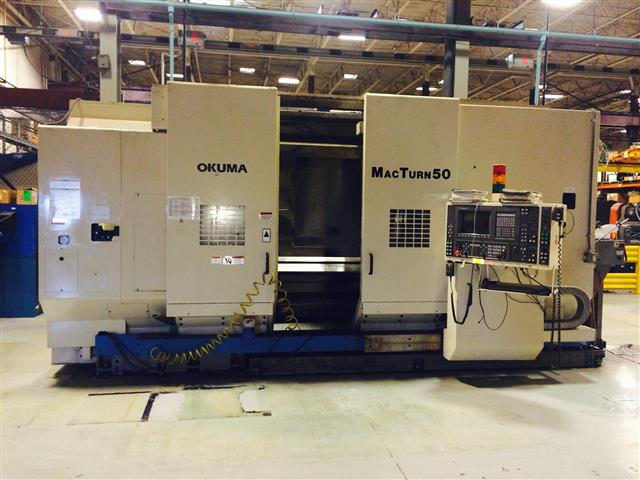 Okuma MacTurn 50, Machine ID:6284