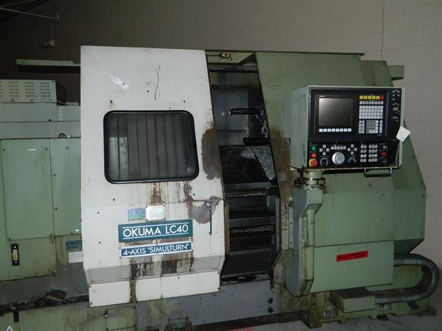 Okuma LC40, Machine ID:6329