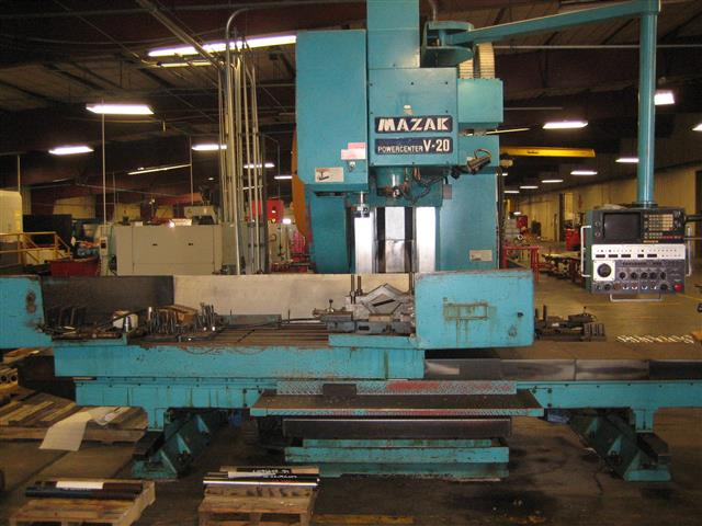 Mazak Power Center V20, Machine ID: 6356