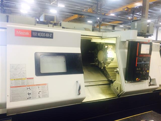 Mazak QTN 450II, Machine ID: 6367
