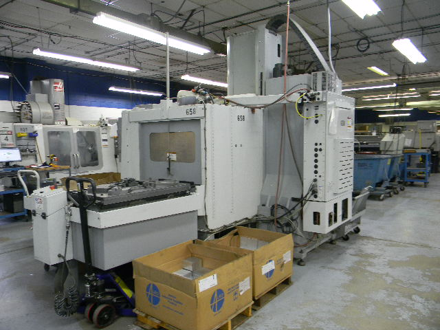 Haas VF4SSAPC, Machine ID:6397