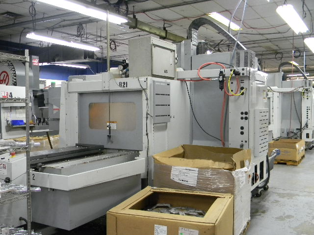Haas VF4SSAPC, Machine ID:6398