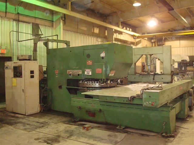 Warner & Swasey Wiedematic W4560, Machine ID:6404