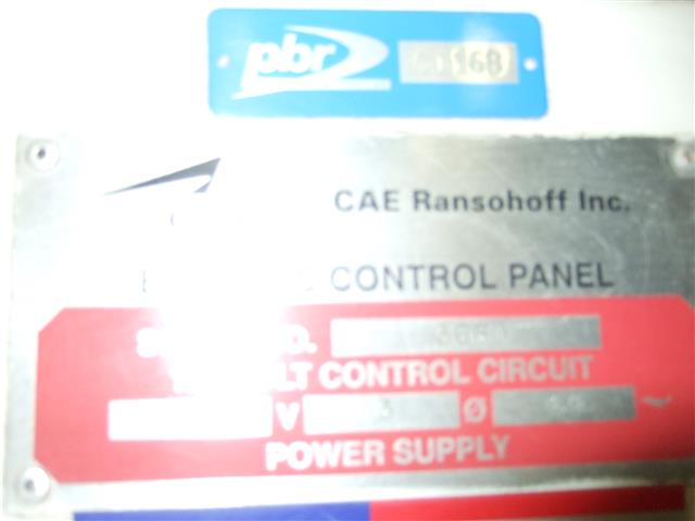 Ransohoff Belt Type Parts Washer, Machine ID: 6408