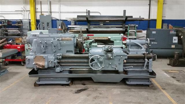 "Monarch 22"" CM Gap Bed Lathe, Machine ID:6493"