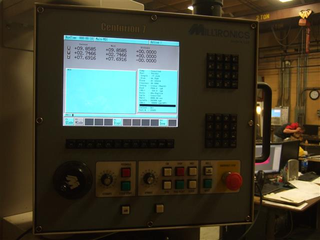 Milltronics VM16, Machine ID:6524