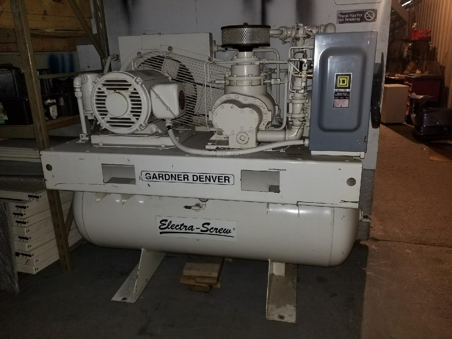 Gardner Denver Air Compressor, Machine ID:6559