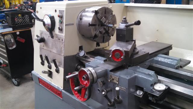 Clausing-Colchester 21 x 120 Engine Lathe, Machine ID:6567