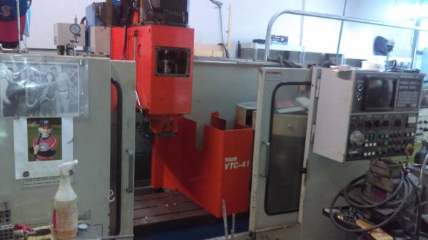 Mazak VTC-41, Machine ID:6580