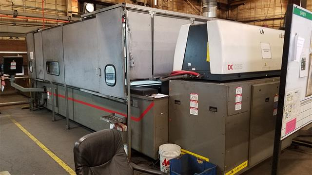 "Machine 6594, Cincinnati CL-707 Lasers, 2006 and 2007, 3300 Watts, 60"" x 120"""