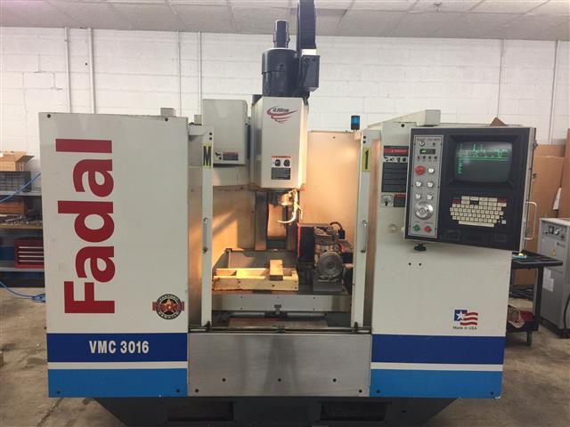 Machine 6603, Fadal VMC-3016HT, 2002, Fadal Factory Rebuilt