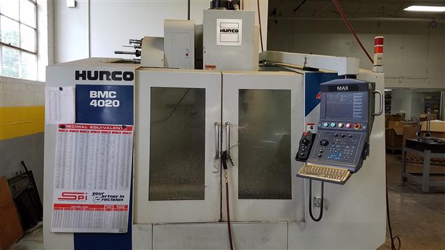 Hurco BMC-4020, Machine ID:6605