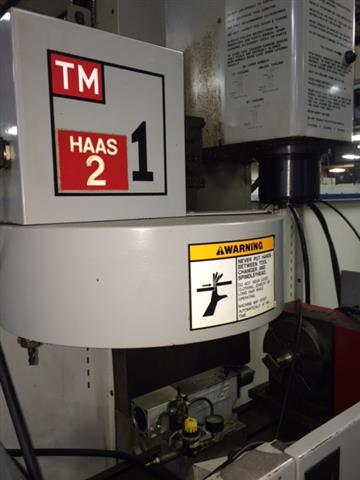 Haas TM-1 Toolroom Mill, Machine:6607, image:2